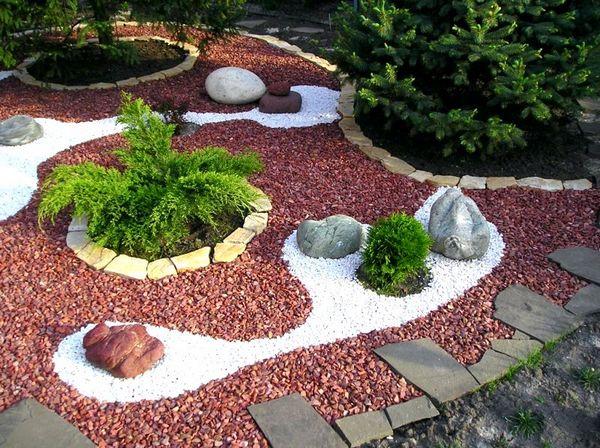 Уникальный дизайн сада: гравийный сад и альпийская горка