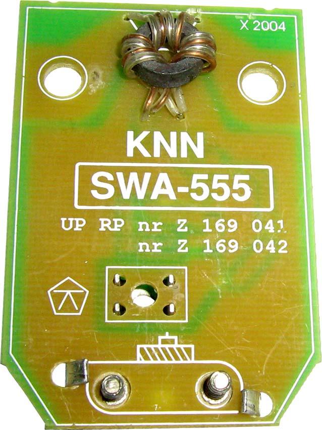 Антенный усилитель телевизионного сигнала SWA-555/LUX.