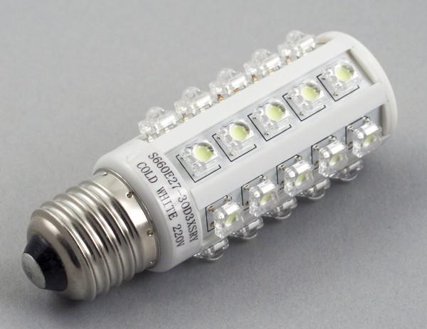 Популярно о светодиодных лампочках, современная светодиодная лампа.